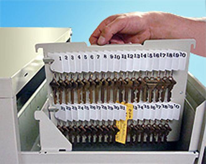 Key Holder Hanging File Cabinet Key Rack Made In Usa