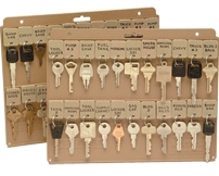 Key Holder Key Panel For Filing Cabinets Or 3 Ring Binders