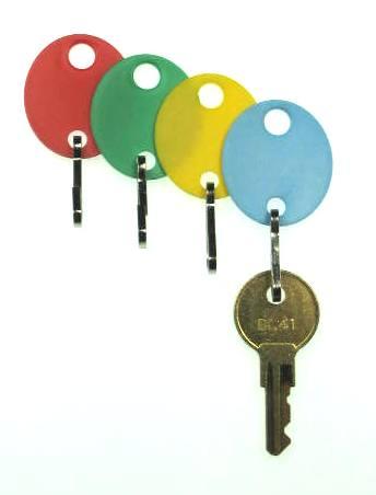 Key Tags Hook Style Color Key Tags