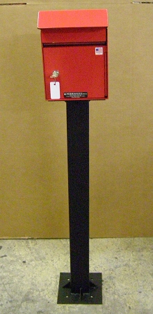 Security Key Drop Box Pedestal