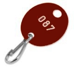 Numbered-Brown-Oval-Key-Tags