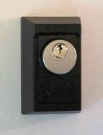 Kidde Keyed Lock Box<br />Surface Mount<br />Rekeyable Mortise Cylinder Available