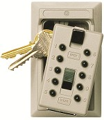 Kidde Key Safe S5<br />Permanent Key Lock Box<br />Holds Up To 5 Spare Keys