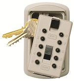 Kidde Key Safe Slimline Key Lock Box<br />Wall Mount<br />Holds 2 Spare Keys