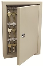 AccessPoint Locking Key Cabinet<br />30, 60 or 120 Key Capacity<br />Heavy Gauge Steel Construction<br />Custom Combination Locks Available