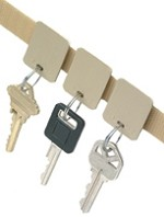 Velcro® Key Tags<br />Set of 12 Easy-to-Mount Removable Tags