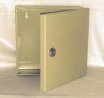Mini Locking Storage Cabinet <img src=