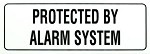 Alarm System Decal, 3-Pack