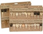 Key Panel for Filing Cabinet or 3 Ring Binder