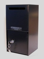Vertical Security Drop Box <img src=