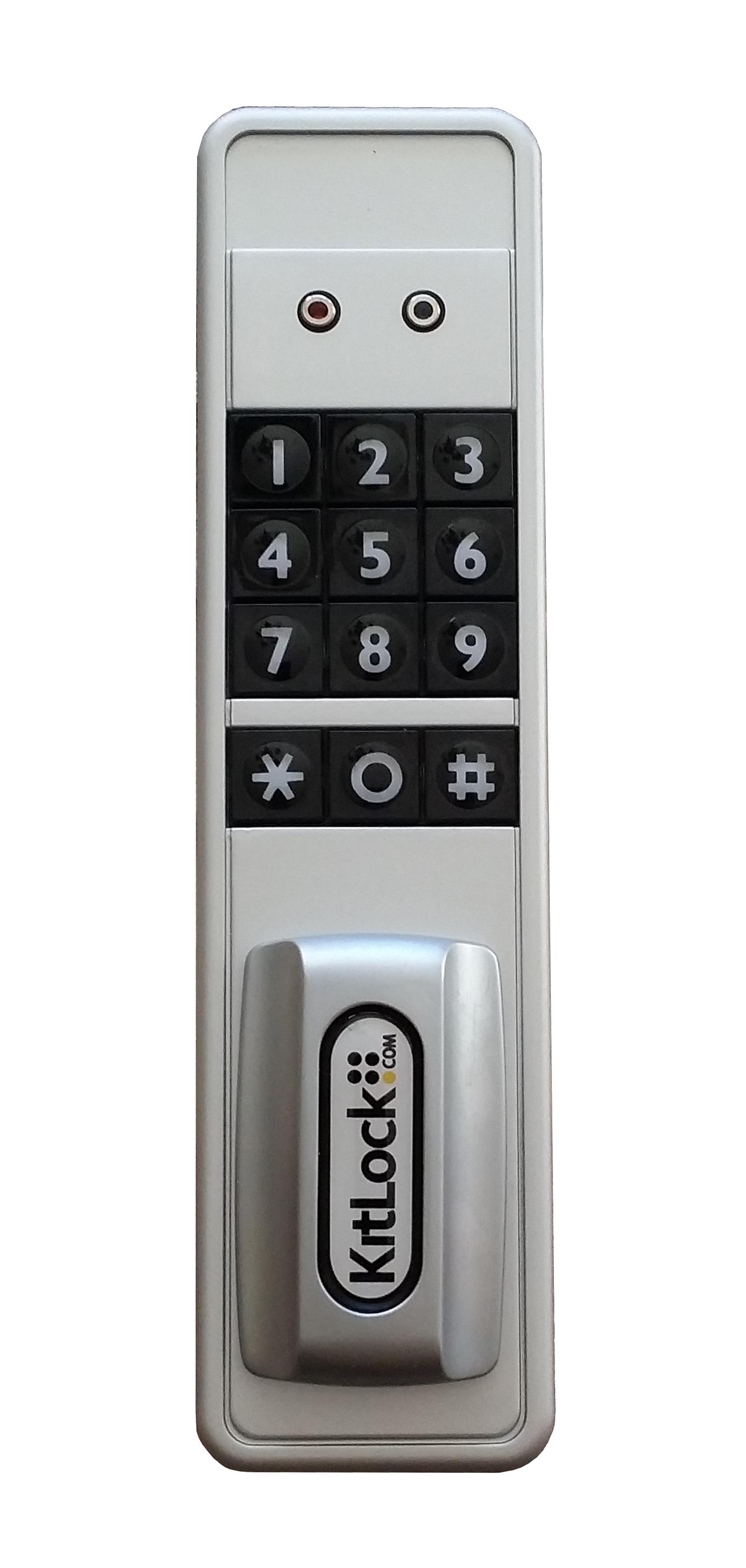 Dual Code Electronic Lock